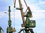 Port w Gdyni - dźwig