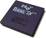 Intel 486DX-50 - haut